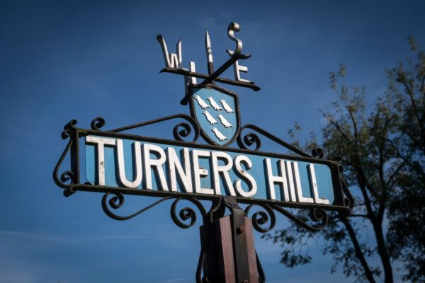 Turners Hill Sign